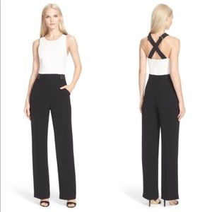 Ted backer Lydya color block jumpsuit
